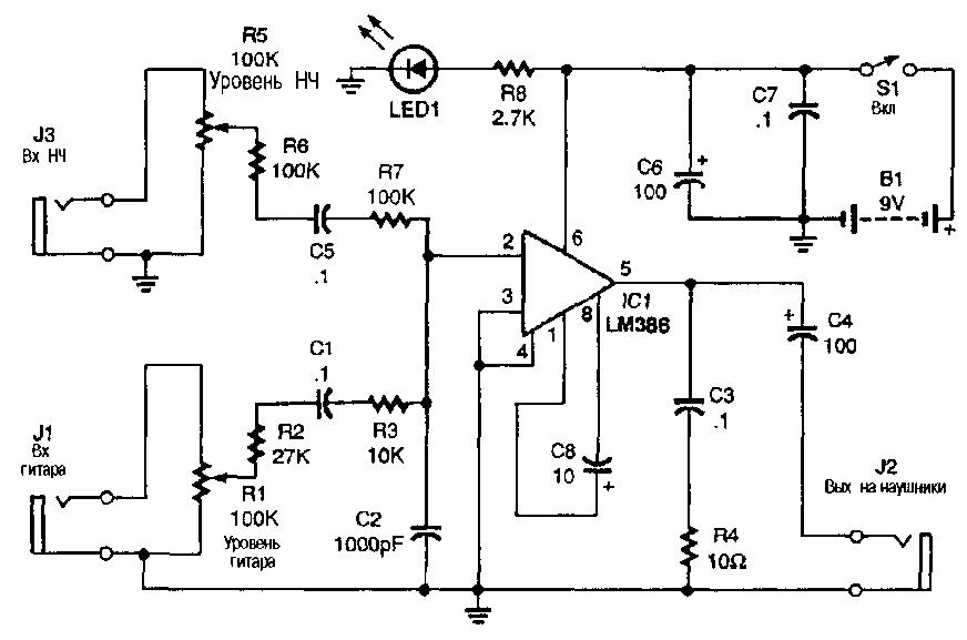 Комбоусилитель для электрогитары своими руками
