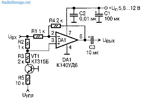 Схема аналоговый ключ