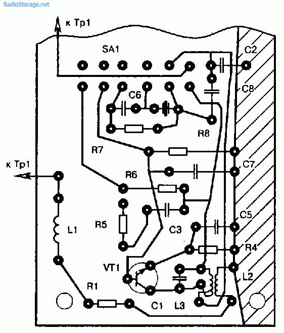 Схема простой радиостанции на