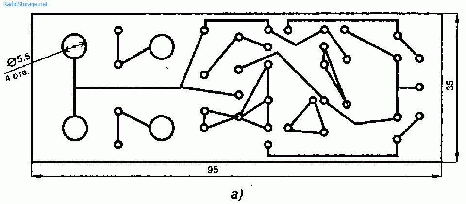 Схема двухполярного