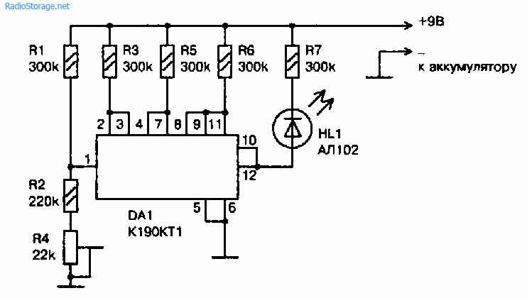 Питание электронной аппаратуры от аккумуляторов