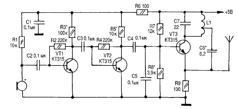 транзисторах (88-100 МГц)