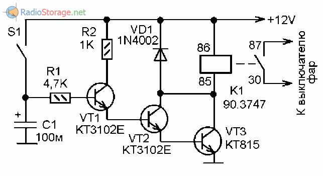 зарядное устройство для автомобильного аккумулятора на микросхеме кр1561тл1