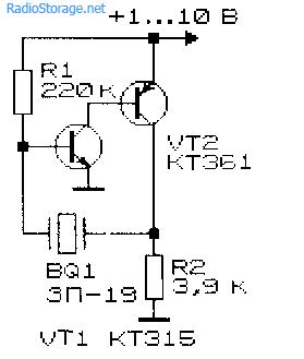 Простой генератор прямоугольных импульсов