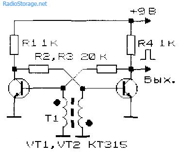 Довольно простые и часто встречающиеся на практике генераторы импульсов (блокинг-генераторы) с использованием...
