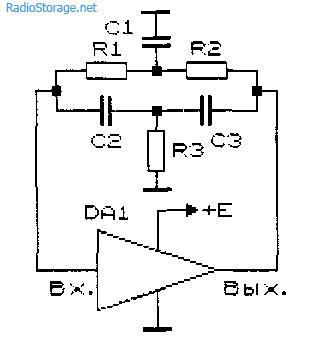 Схемы генераторов низкой частоты
