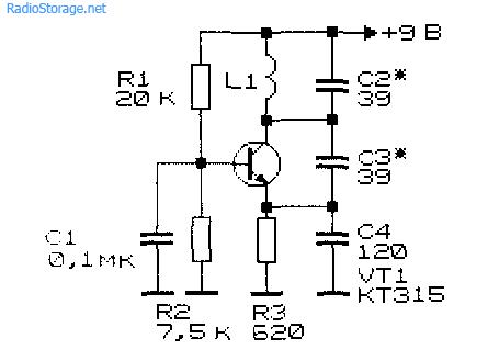 Схемы генераторов высокой