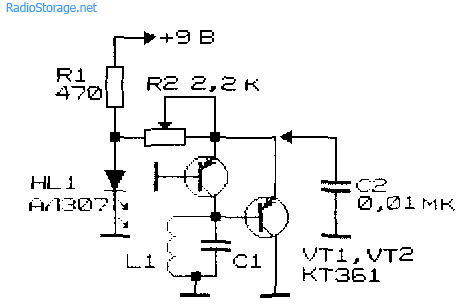 Схемы генераторов высокой частоты