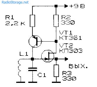 схемы вч генераторов на транзисторах