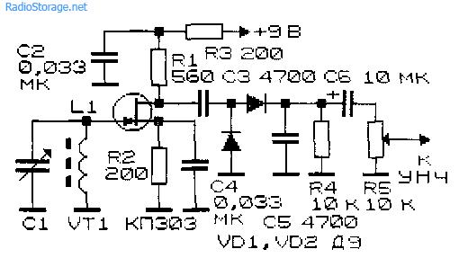 Схемы простейших радиоприемных
