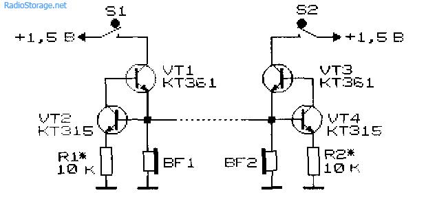 Схемы устройств малопроводной
