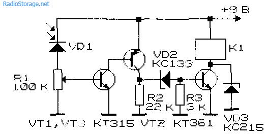 усилитель фотодиода на транзисторе аризоне