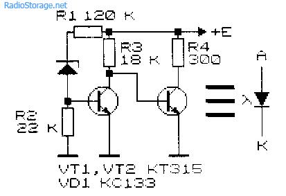 Полевой транзистор вместо диода схема