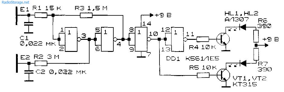 Простые электронные устройства