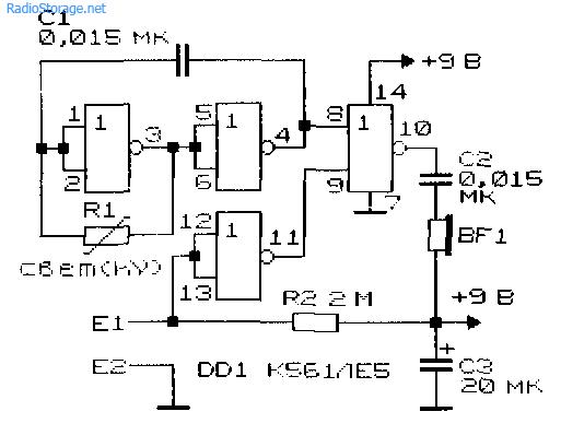 Схема светофона