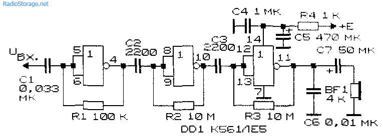 Простые схемы на микросхемах фото 174