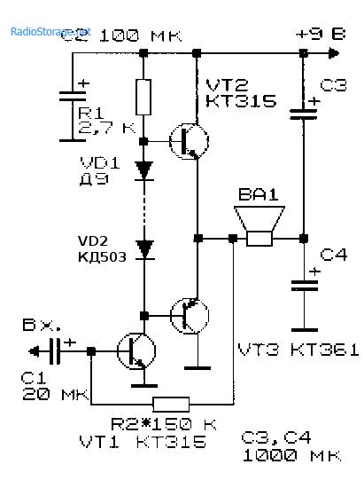 Если вам нужна. схема простого лампового УНЧ. сайте по электронике.