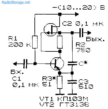 усилители на транзисторах