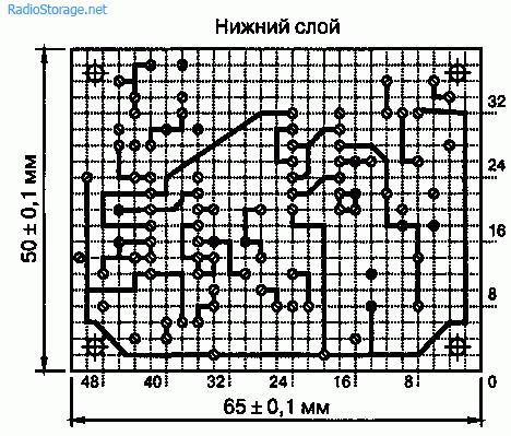 Схема датчика излучения