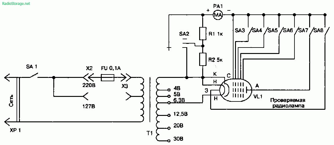 Ремонт старых ламповых приемников, замена и тест радиоламп, полезные советы
