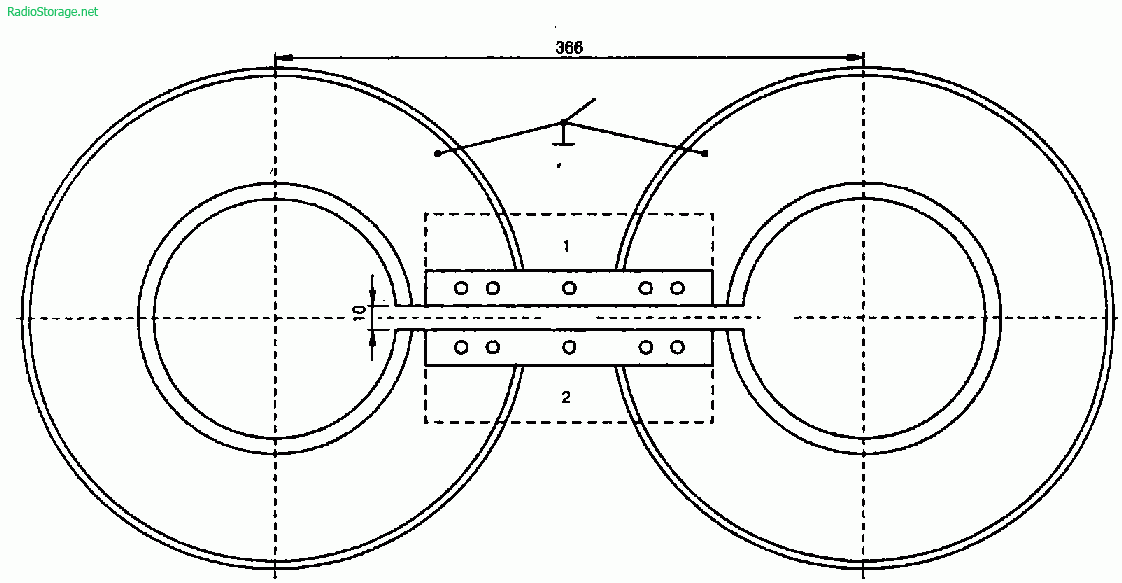 Конструкция телеантенны из