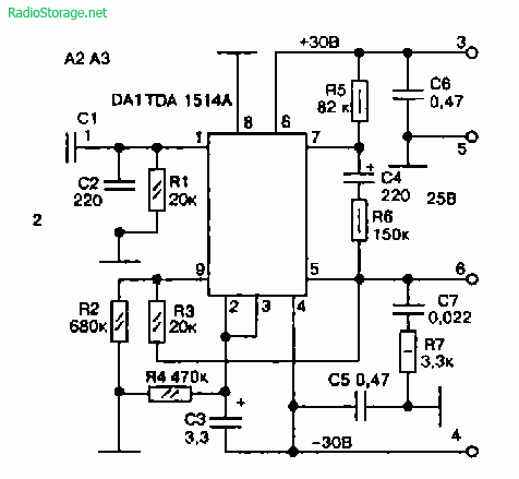Схема усилителя звуковой