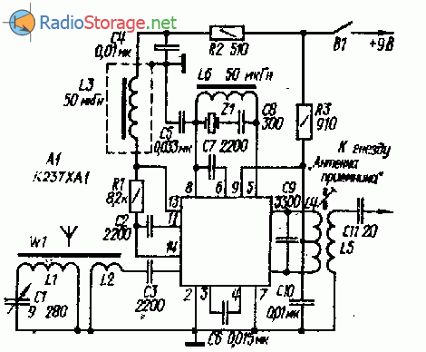 КВ конвертер на микросхеме