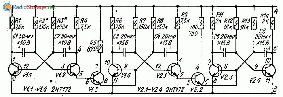 Звонок соловей принципиальная схема