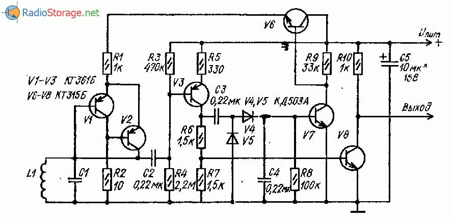 транзисторный LC-генератор
