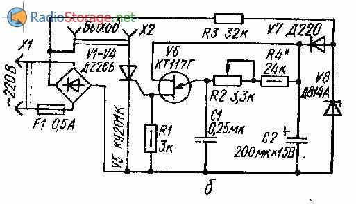 однопереходном транзисторе