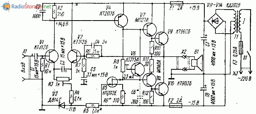 Унч на германиевых транзисторах своими руками радио 2 1970