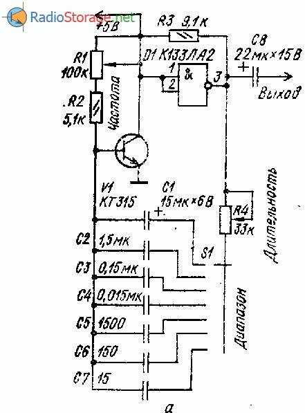 Простые генераторы импульсов