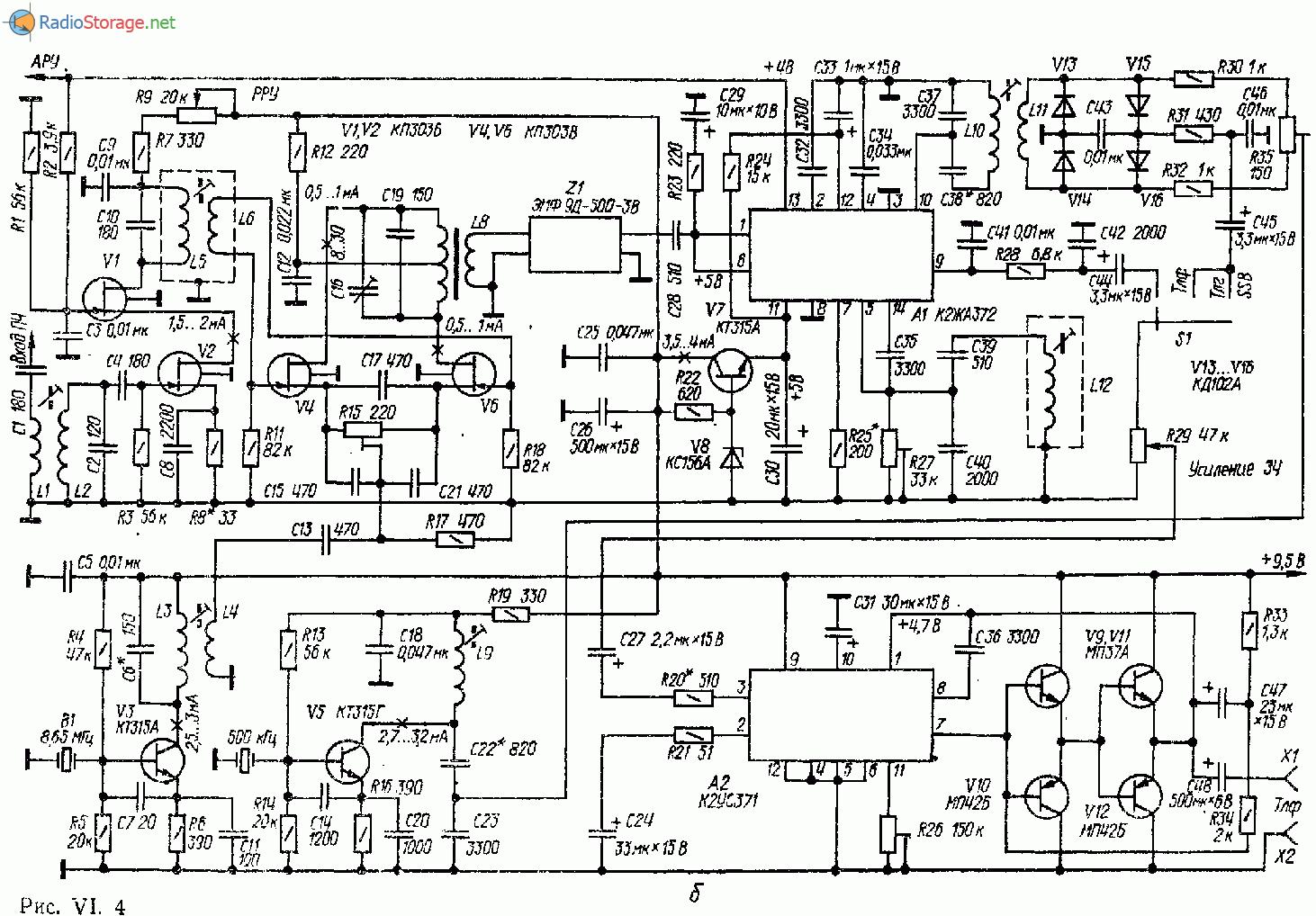 Гетеродин для трансивера с пч 9 мегагерц