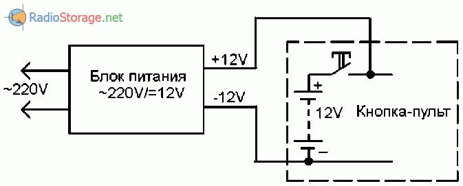 Помощник электрика, дистанционный сигнализатор