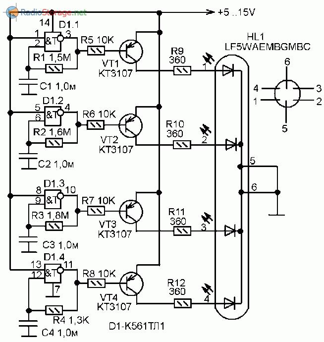 Мультивибратор на логических элементах схема фото 818