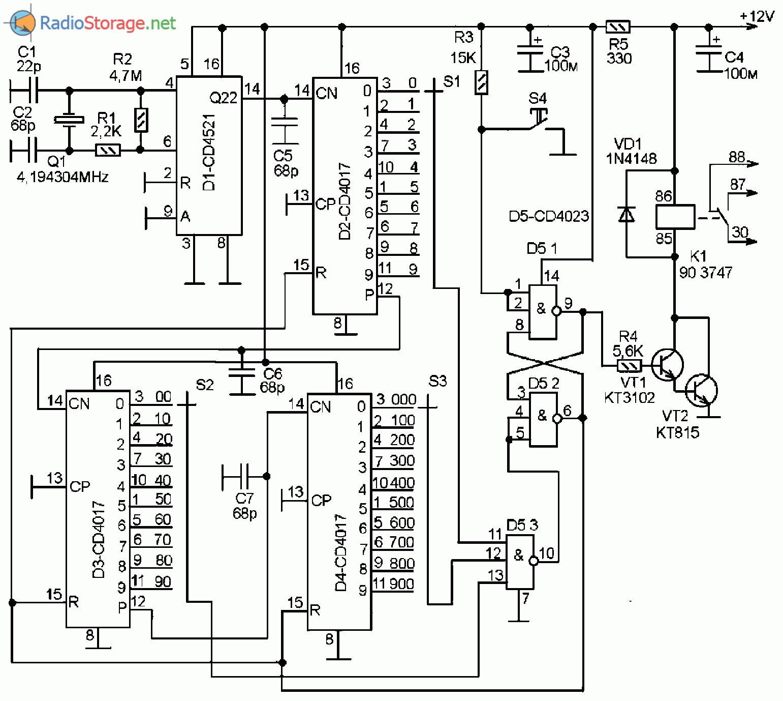 Схема мультивибратора на реле фото 246