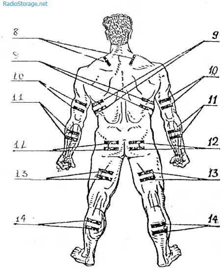 Схема стимулятор мышц