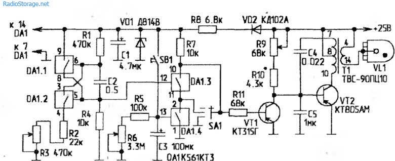 Схемы аппаратов для