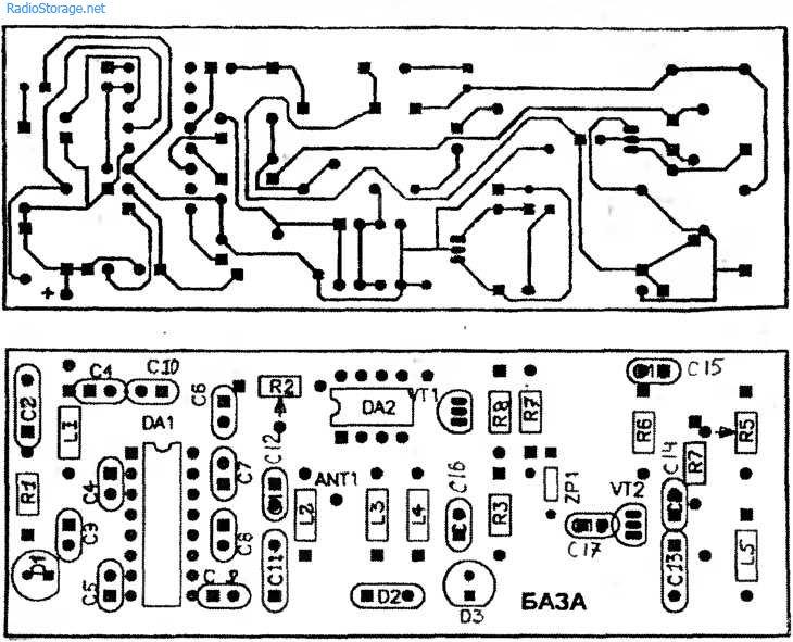 Схема простого радиотелефона