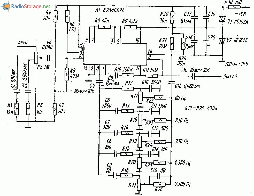Схема предварительного