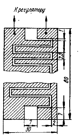 Схема регулятора влажности