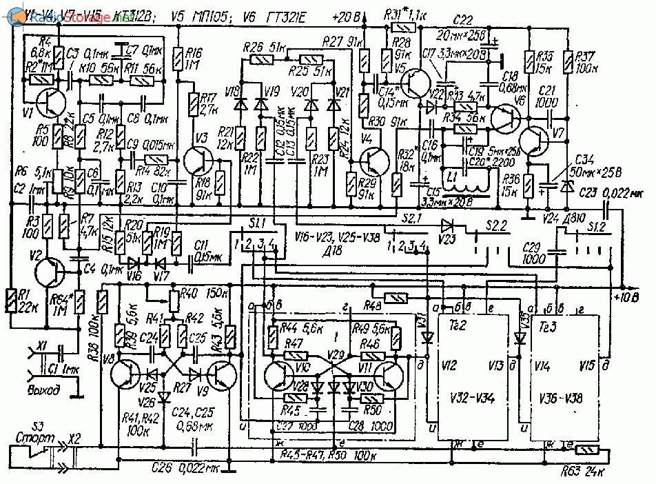 Схема ударного