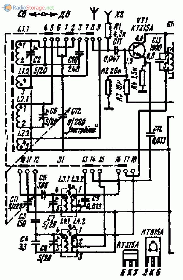 Как переделать Альпинист-418 на КВ диапазон частот