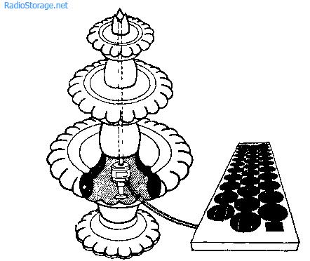 Рис. 1. Механизм действия фонтана очень прост.  Он функционирует по замкнутом циклу, как показано на рис. 1...