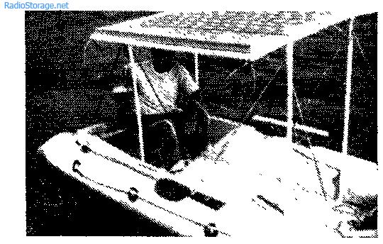 Лодка с электроприводом и зарядкой аккумуляторов от солнца