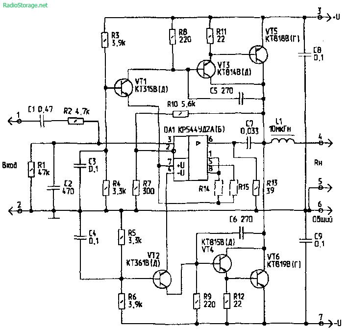 и транзисторах КТ818,