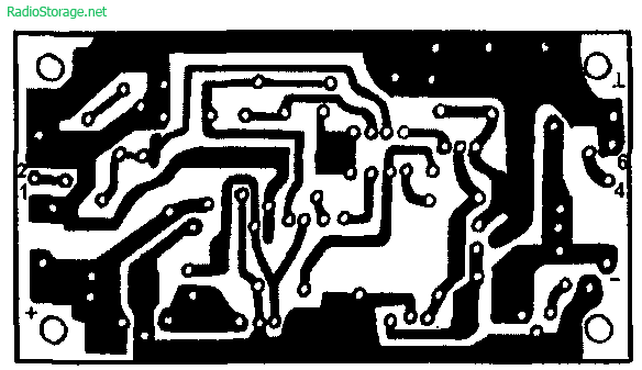 Схема УМЗЧ на КР544УД2, КТ818,