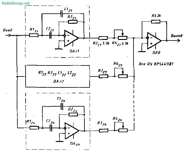 графического эквалайзера