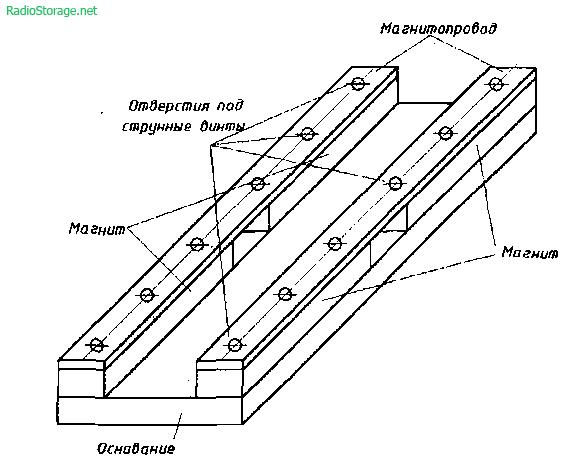 для электрогитары схема