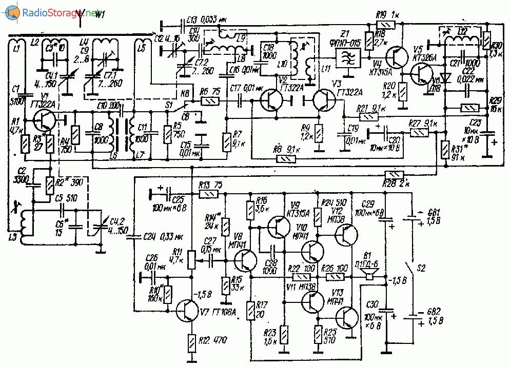Переменный резистор R11